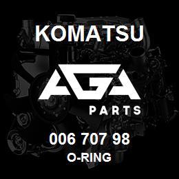 006 707 98 Komatsu O-ring | AGA Parts