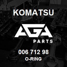 006 712 98 Komatsu O-ring | AGA Parts