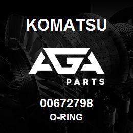 00672798 Komatsu O-RING | AGA Parts