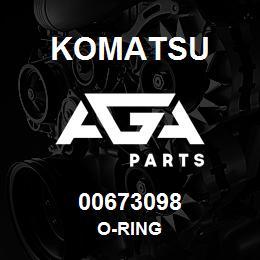 00673098 Komatsu O-RING | AGA Parts