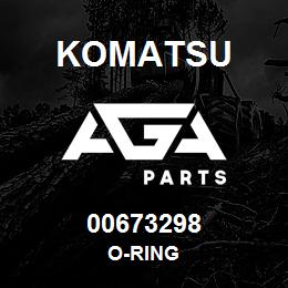 00673298 Komatsu O-RING   AGA Parts