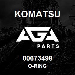 00673498 Komatsu O-RING   AGA Parts
