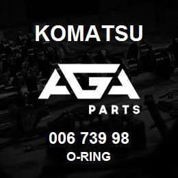 006 739 98 Komatsu O-ring | AGA Parts