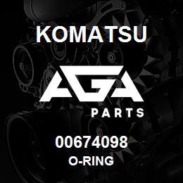 00674098 Komatsu O-RING | AGA Parts