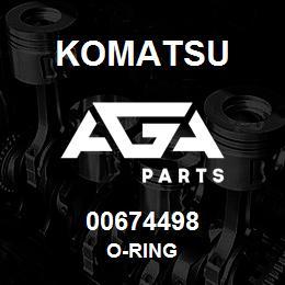 00674498 Komatsu O-RING   AGA Parts