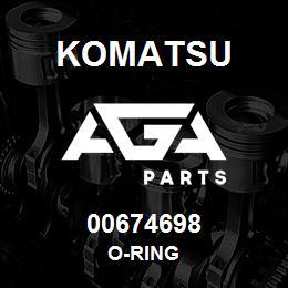 00674698 Komatsu O-RING   AGA Parts