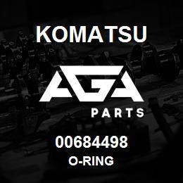 00684498 Komatsu O-RING   AGA Parts