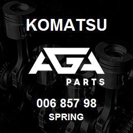 006 857 98 Komatsu Spring | AGA Parts