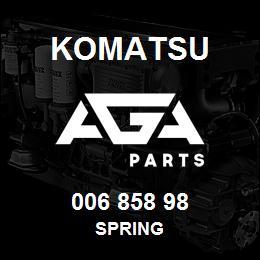 006 858 98 Komatsu Spring | AGA Parts