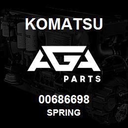 00686698 Komatsu SPRING | AGA Parts