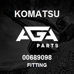 00689098 Komatsu FITTING | AGA Parts
