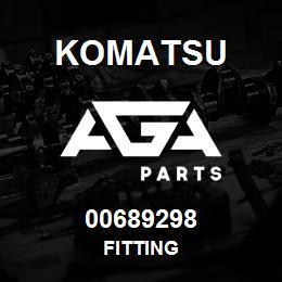 00689298 Komatsu FITTING | AGA Parts