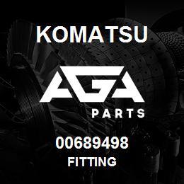 00689498 Komatsu FITTING | AGA Parts
