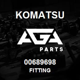 00689698 Komatsu FITTING | AGA Parts