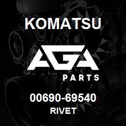 00690-69540 Komatsu RIVET | AGA Parts