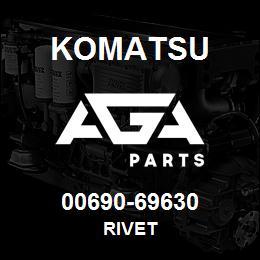 00690-69630 Komatsu RIVET | AGA Parts