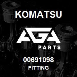 00691098 Komatsu FITTING | AGA Parts