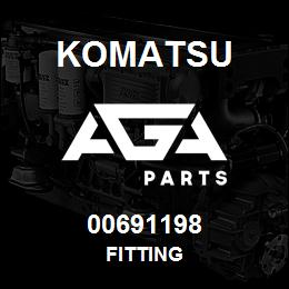 00691198 Komatsu FITTING | AGA Parts