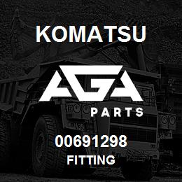 00691298 Komatsu FITTING | AGA Parts