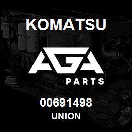00691498 Komatsu UNION | AGA Parts