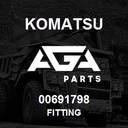 00691798 Komatsu FITTING | AGA Parts