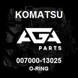 007000-13025 Komatsu O-RING | AGA Parts