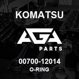 00700-12014 Komatsu O-RING | AGA Parts