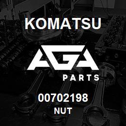 00702198 Komatsu NUT | AGA Parts
