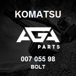 007 055 98 Komatsu Bolt   AGA Parts