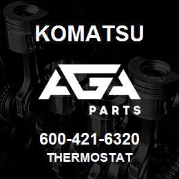 Komatsu 600-421-6320 Thermostat