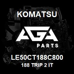 LE50CT188C800 Komatsu 188 TRIP 2 IT | AGA Parts