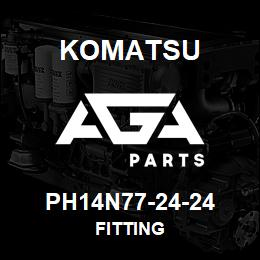PH14N77-24-24 Komatsu FITTING | AGA Parts