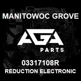 03317108R Manitowoc Grove REDUCTION ELECTRONICS EKS3LBS/ | AGA Parts