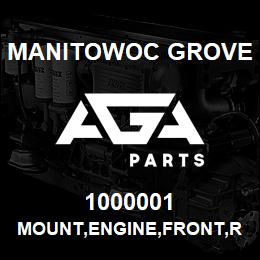 1000001 Manitowoc Grove MOUNT,ENGINE,FRONT,RUBBER | AGA Parts