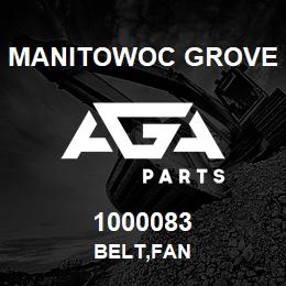 1000083 Manitowoc Grove BELT,FAN | AGA Parts