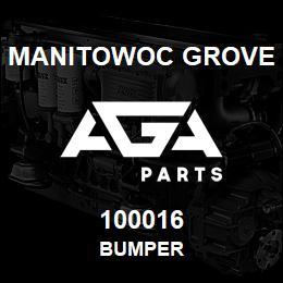 100016 Manitowoc Grove BUMPER | AGA Parts