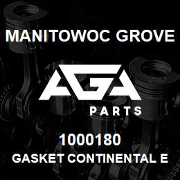 1000180 Manitowoc Grove GASKET CONTINENTAL EXHAUST | AGA Parts