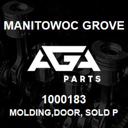 1000183 Manitowoc Grove MOLDING,DOOR, SOLD PER INCH | AGA Parts