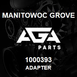 1000393 Manitowoc Grove ADAPTER | AGA Parts