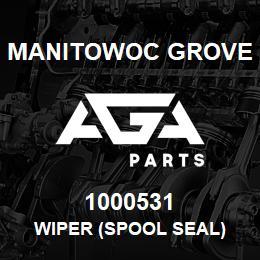 1000531 Manitowoc Grove WIPER (spool seal) | AGA Parts