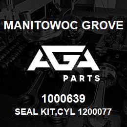 1000639 Manitowoc Grove SEAL KIT,CYL 1200077 | AGA Parts