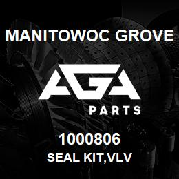 1000806 Manitowoc Grove SEAL KIT,VLV | AGA Parts