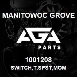1001208 Manitowoc Grove SWITCH,T,SPST,MOM | AGA Parts