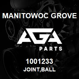 1001233 Manitowoc Grove JOINT,BALL | AGA Parts