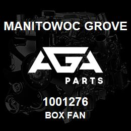 1001276 Manitowoc Grove BOX FAN | AGA Parts