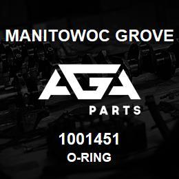 1001451 Manitowoc Grove O-RING | AGA Parts