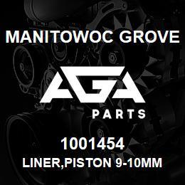1001454 Manitowoc Grove LINER,PISTON 9-10MM LONG | AGA Parts