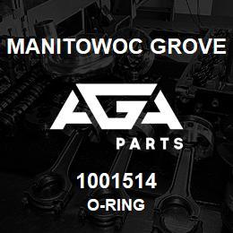 1001514 Manitowoc Grove O-RING | AGA Parts