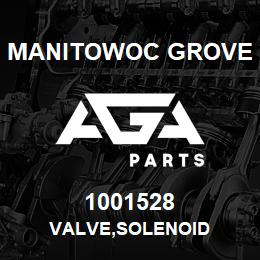 1001528 Manitowoc Grove VALVE,SOLENOID | AGA Parts