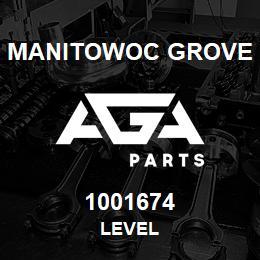 1001674 Manitowoc Grove LEVEL | AGA Parts